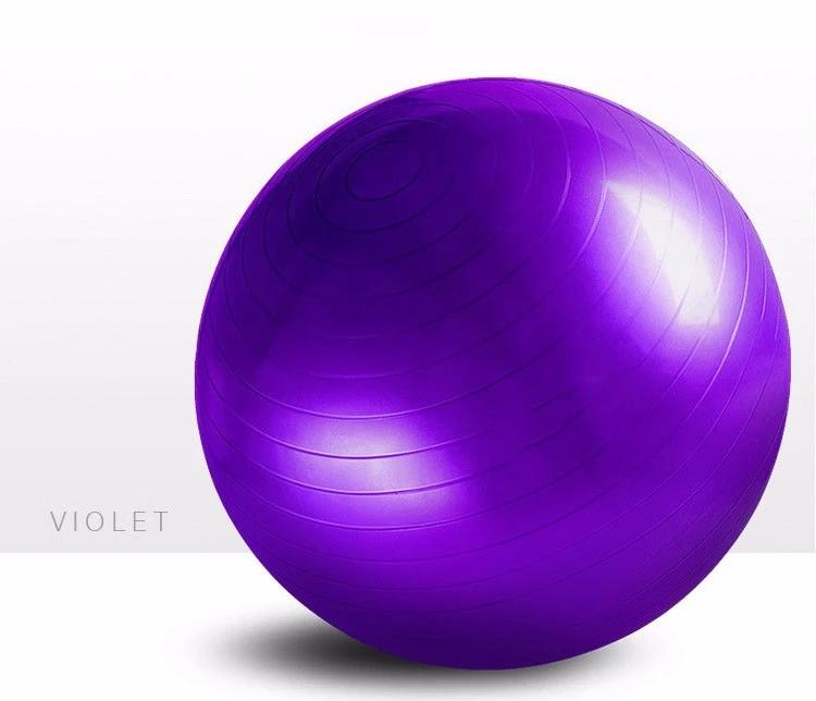 PVC gym Equipment exercise Fitness yoga ball03