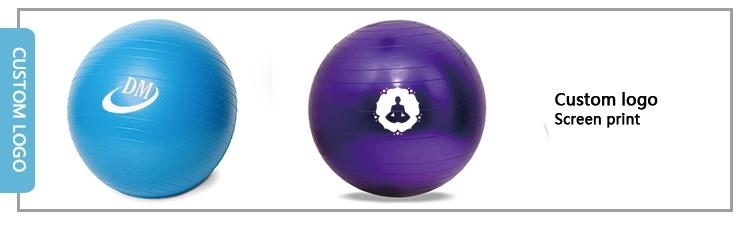 PVC gym Equipment exercise Fitness yoga ball3