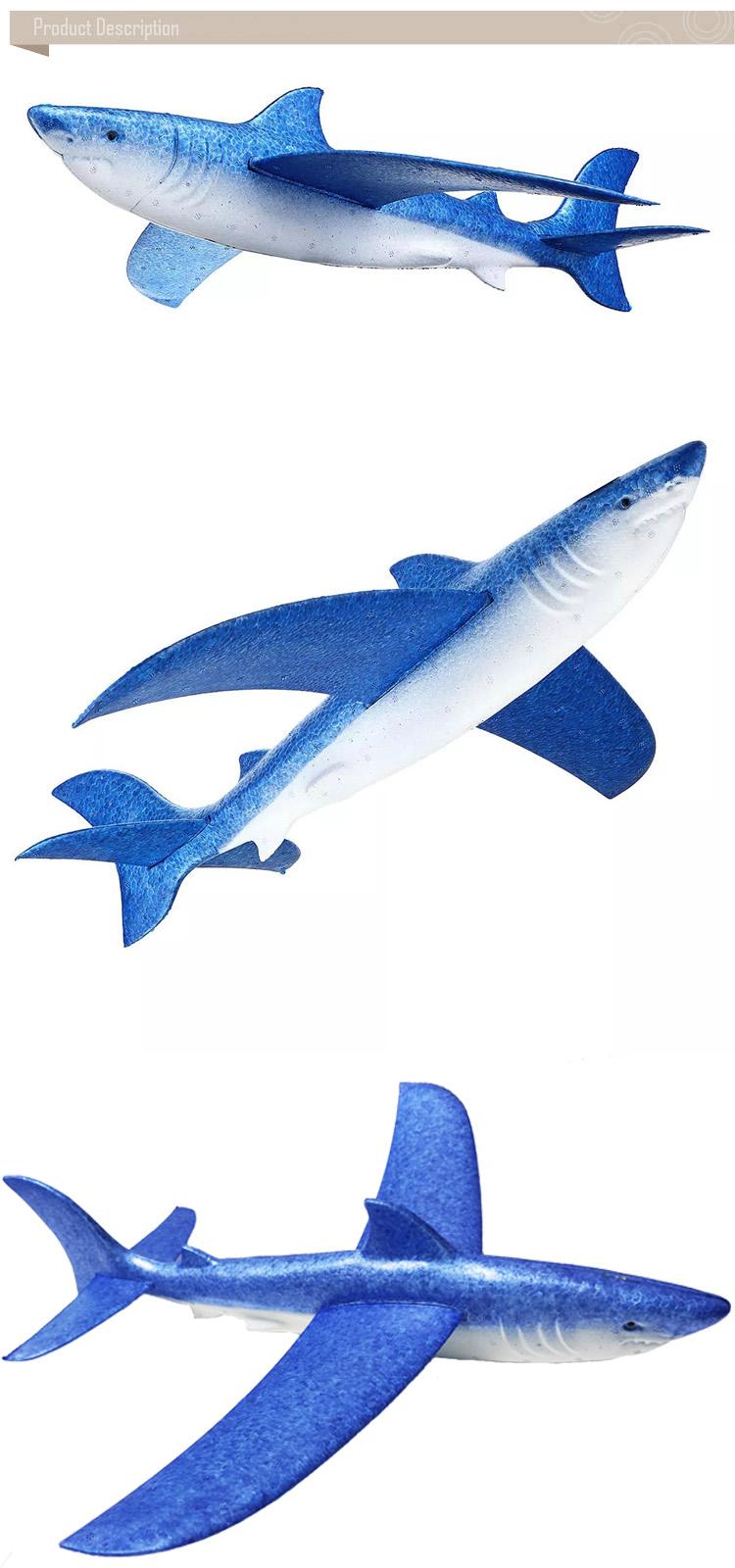 Shark hand glider