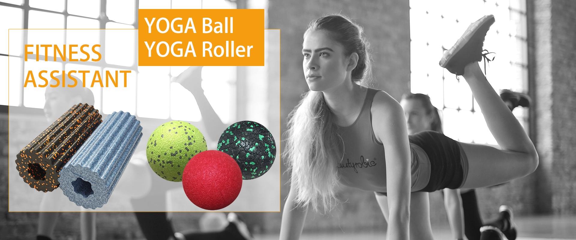 yoga ball banner