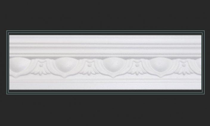 Polystyrene cornice 001