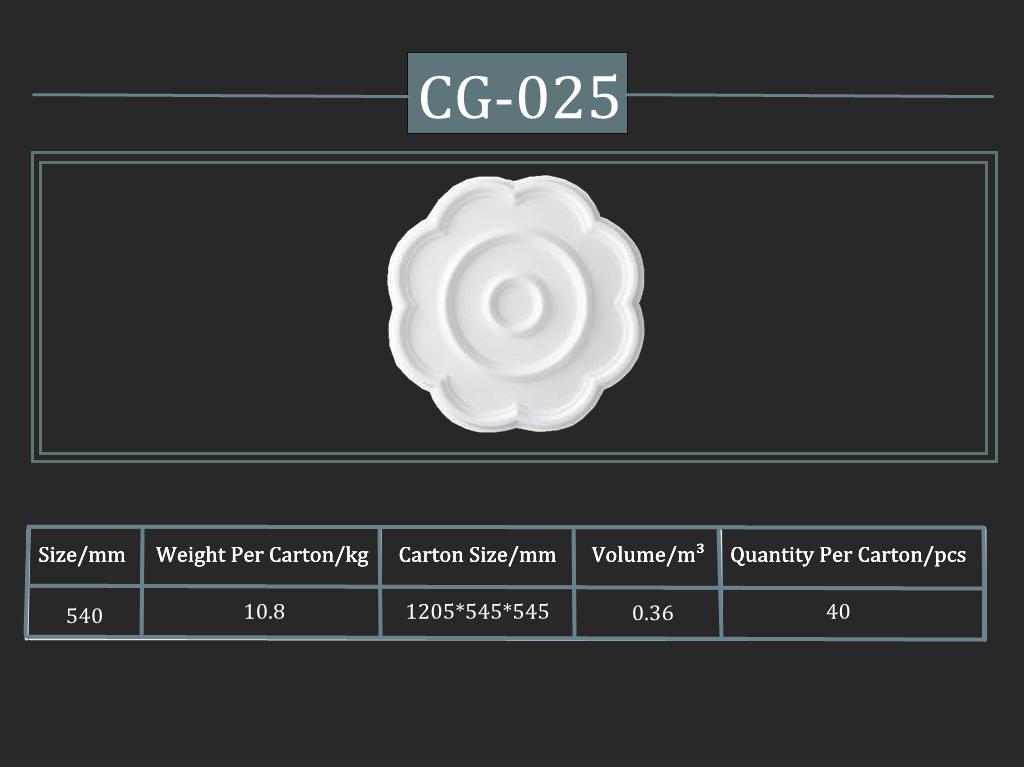 Cornice CG-025