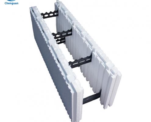 straight icf block