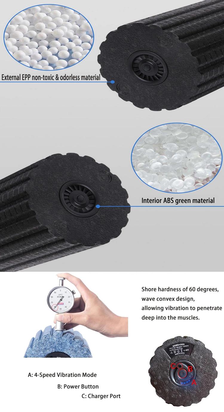 electric vibrating foam roller details